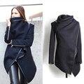 Вниз пальто Женщины Твердые мода новый стиль Водолазка Сексуальная девушка пальто тренчкот для женщин abrigos mujer