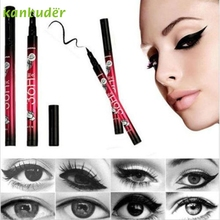KANBUDER FeatheringWomen Black Eyeliner Waterproof Liquid Make Up Beauty Comestic Eye Liner Pen AP35