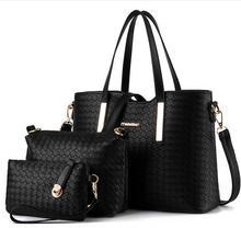Alta Calidad 2017 Nuevas Nuevas mujeres famoso diseñador bolso marcas de lujo las mujeres bolsa conjunto medio de buena calidad bolso de las mujeres conjunto