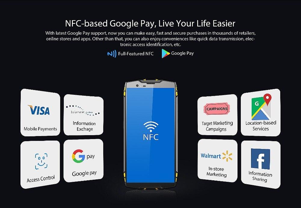 "HTB1vN9ddjbguuRkHFrdq6z.LFXa6 Blackview BV6800 Pro Android 8.0 Outdoor Mobile Phone 5.7"" MT6750T Octa Core 4GB+64GB 6580mAh Waterproof NFC Rugged Smartphone"