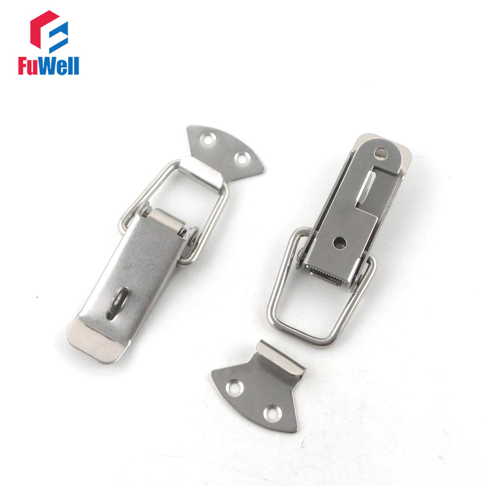 100pcs R102 Spring Loaded Toggle Latch 90mm Case Box Buckle Chest Iron Toggle Latch Hasp
