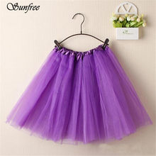 Female Short Bottoms Bodycon Vintage Stretchy Skirts hip skirt Fashion Women Ballet Tutu Layered Organza Lace Mini Skirt #EQ8650(China)