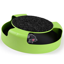 Cat Toy Pets Products Kitten Toys with Moving Mouse Inside Roped Funny Faux Mouse Play Toys For Kids & Cat