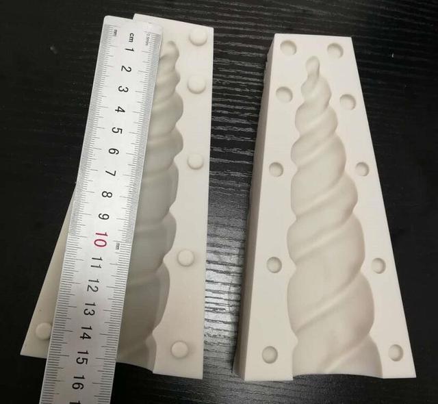 Cake Tool 6 inch 3D unicorn horn Silicone mold Mould  Wedding Chocolate tools fondant Cake Baking Icing Ice