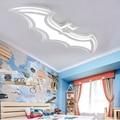 Batman plafond lamp Voor Kids Kinderen Livirng kamer plafond verlichting 110V 220V moderne plafondlamp eenvoudige led Met afstandsbediening