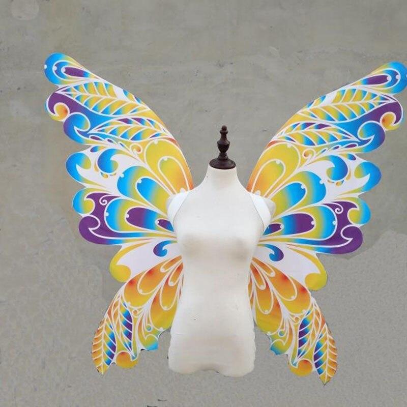 Костюмы на Хэллоуин модный показ этап proformance бикини show Танцы Виктория ангел крылья бабочки карнавальный костюм
