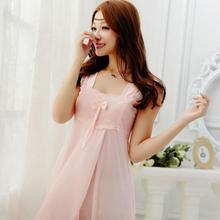 2016 new Womens Sleepwear silk Sling Lingerie cute Sweet ComfortableNightgowns Sleepshirts