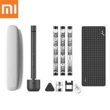 מקורי Xiaomi חכם Wowstick 1F + 64 ב 1 חשמלי בורג Mi נהג אלחוטי ליתיום יון תשלום LED כוח בורג mijia ערכת נהג