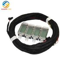 3AD947409 4 шт. светодиодный светильник для ног и кабеля для гольфа J etta MK5 MK6 Passat B6 B7 Tiguan Octavia Leon