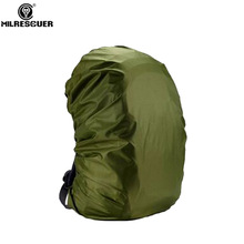 MILRESCUER Rainproof Rain Cover Backpack Raincoat Suit untuk 20L 30L 35L 40L 50L 60L Hiking Kembara Kolam Ransel Backpack Green