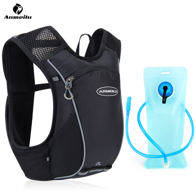 ANMEILU 5L Waterproof Bicycle Backpack Lightweight Running Hydration Backpack MTB Bike Backpack Cycling Bag For Bicycle MenWomen