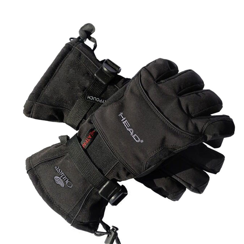 Adults Winter Windproof Waterproof Velvet Keep Warm Thermal Gloves Outdoor Sports Working Cycling Safety Security Equipment