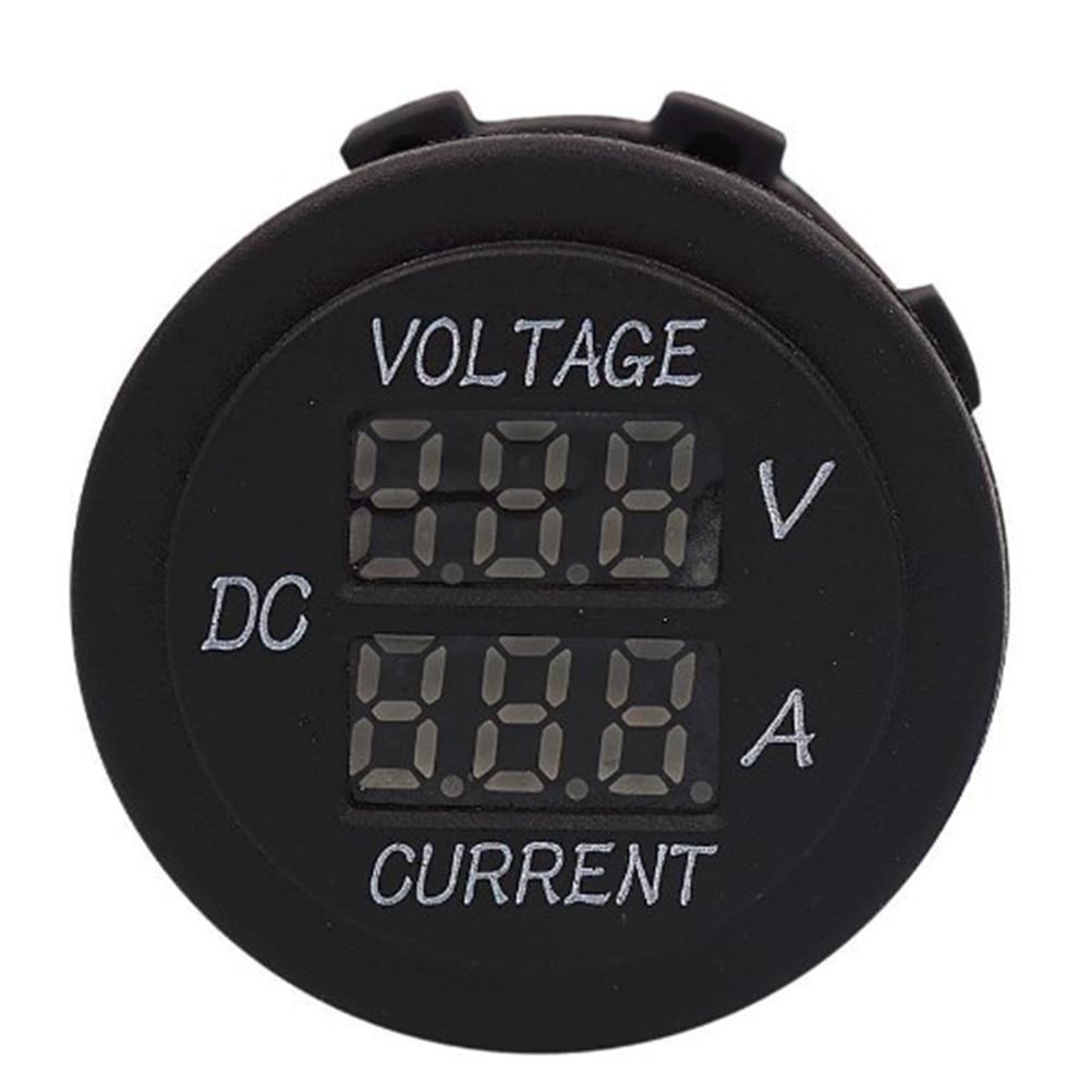Results Of Top 12v 24v Boat Voltmeter In Sadola Motorcycle Battery Monitor Aux Car Digital Real Time Led Dual Display Voltage Gauge Panel For
