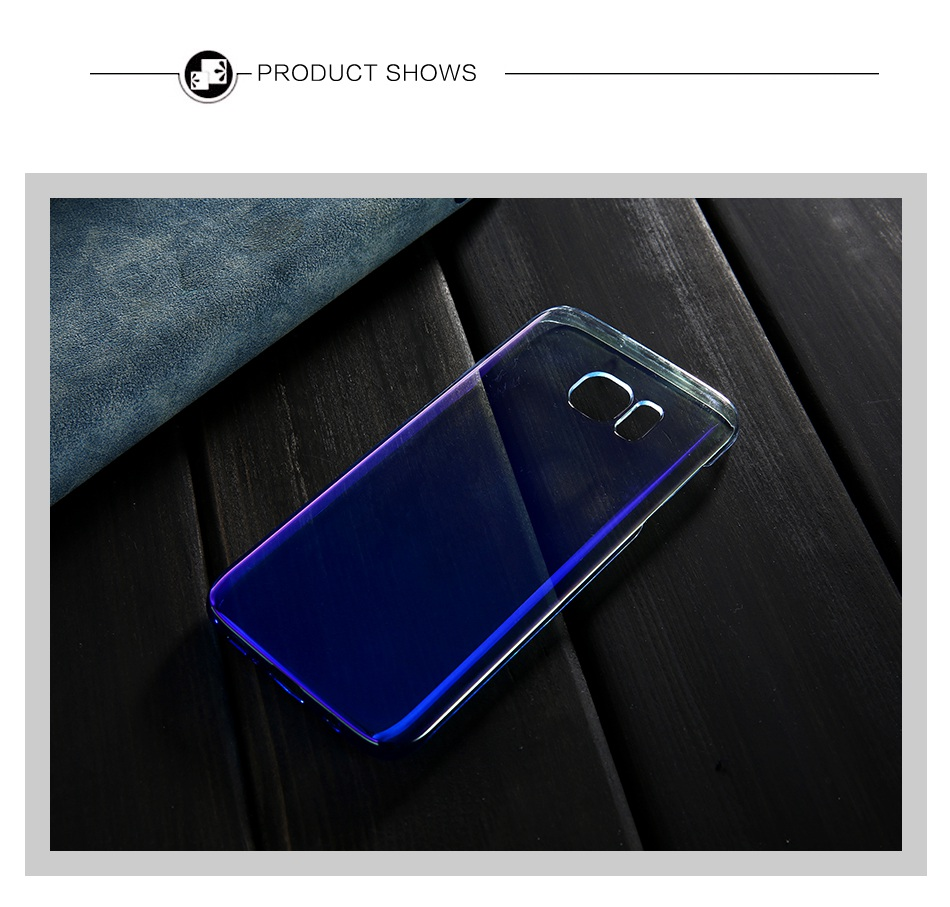 For Samsung S8 Plus Case Blue Ray Gradient Light Phone Cases For Samsung Galaxy S8 Plus Galaxy S6 S7 Edge (8)