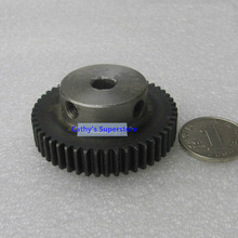 Spur Gear pinion 50T 50Teeth Mod 1 M=1 Width 10mm Bore 8mm Right Teeth 45# steel major gear CNC gear rack transmission RC car