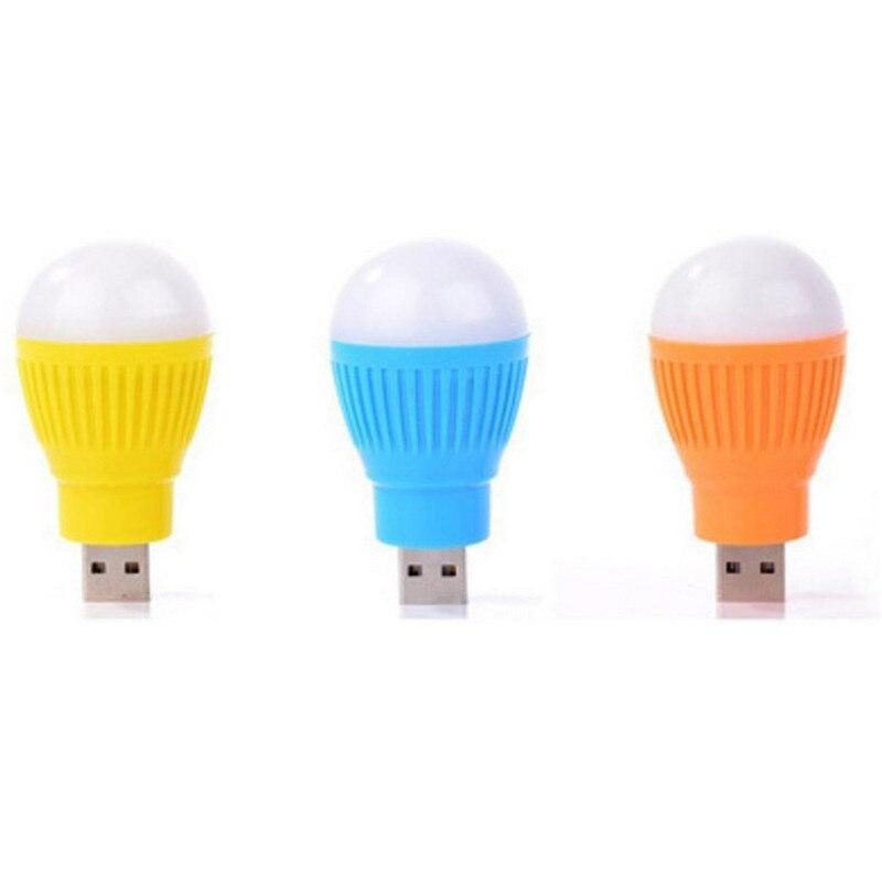 Светодиодный лампы Mini-USB светодиодный свет лампы для компьютера портативных ПК рабочий стол Чтение 1 шт. Пластик USB свет