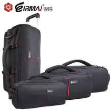 EIRMAI DSLR Photo Carrying Shoulder Nylon Waterproof Rain Cover Camera Tripod Bag Lens Padded Case Pouch for Canon Nikon Sony цена
