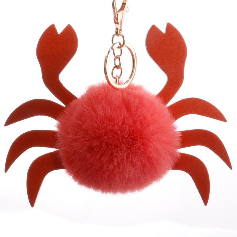 Ddwe Fourrure De Bande Dessinée Boule De Crabe Kawaii