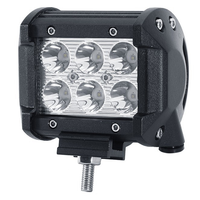 Free shipping One couple 18W LED Work Light Bar Flood Spot Beam Spotlight Offroad Light Bar Fit ATV 2pcs outdoor light видоискатель для фотоаппарата sony fda v1k