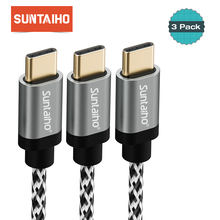 3pcs/Lot Suntaiho USB C 3.1 Cable Type-C Cable for Huawei P20 P10 lite Fast Charger Data Cable for Samsung S9 S8 Xiaomi mi9 mi 9