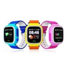 GPS Q90 Pantalla Táctil WIFI Reloj Inteligente Niños SOS de Llamada Dispositivo Localizador de Posicionamiento Rastreador Kid Safe Anti Perdido Monitor