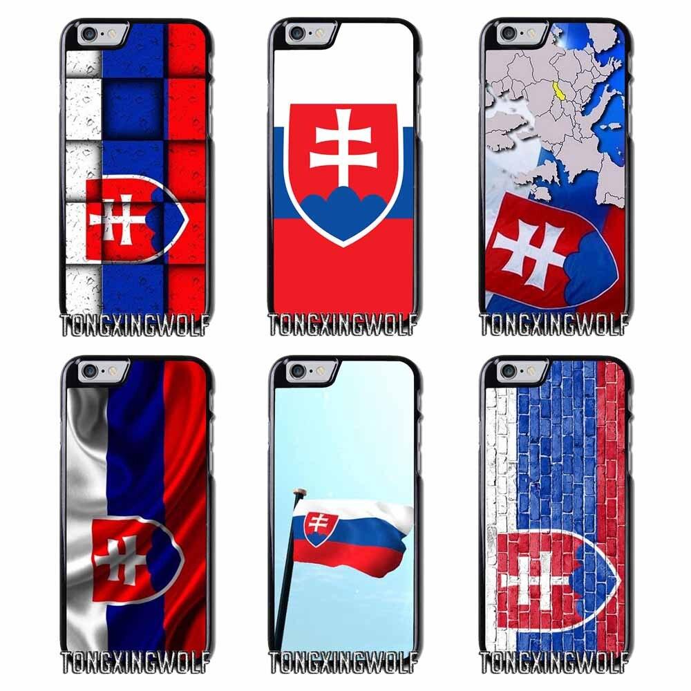 SK Slovak Slovakia Flag Cover Case For Samsung S4 S5 S6 S7 S8 Eege Plus Note 2 3 4 5 8 for Huawei P8 P9 P10 Lite 2017 mini