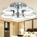 NOVO LED Chandelier Acrílico com 5 luzes AC100-240V Crianças Lâmpadas Quarto Lâmpada de Cristal Lustre de Luzes Led Para Casa