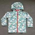 Spring and Autumn Children Outerwear Sporty Kids Clothes Double-deck Waterproof Windproof Girls Jackets For 2-8 2 Colors