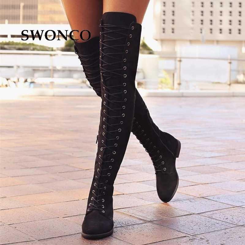 Women Thigh High Boots