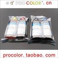 PG46XL BK Pigment ink CL56 COLOR Dye ink refill kit for Canon PIXMA E404 E484 E464 E414 E474 E3140 E 3140 414 484 inkjet printer