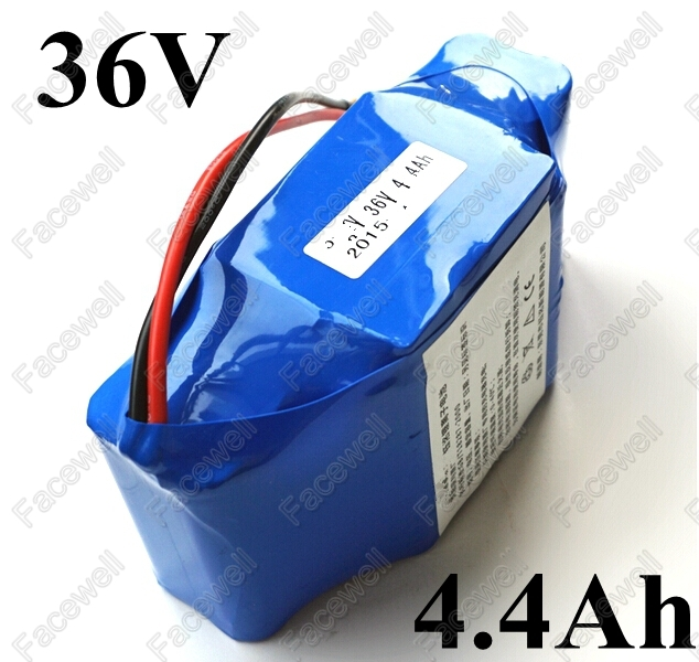 10s2p 36v 4 4ah Battery Pack Li Ion Battery Scooter