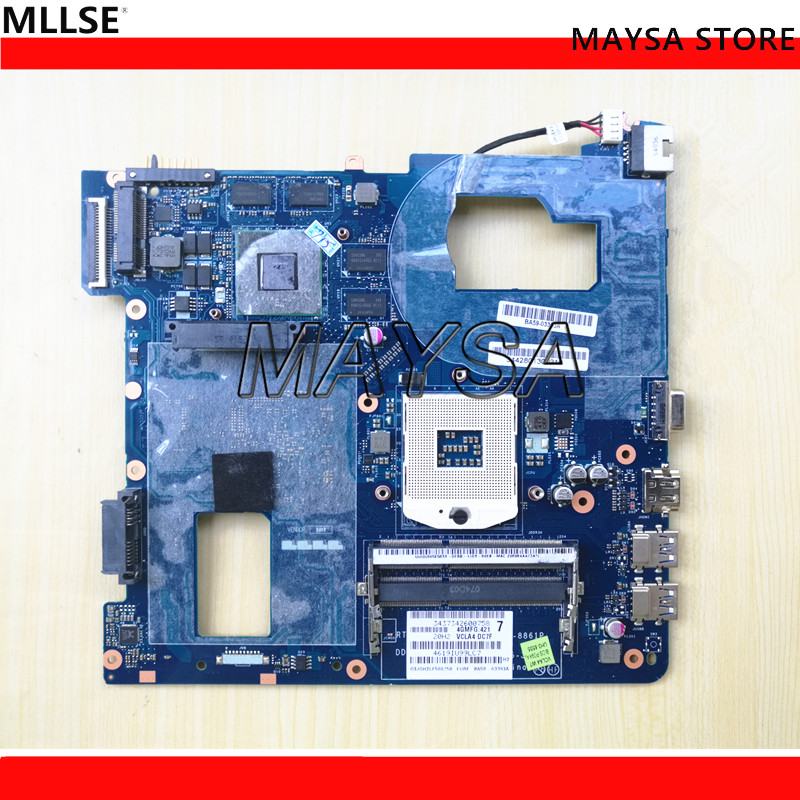 Laptop Motherboard Fit For Samsung NP350 NP350V5C 350V5X Notebook Mainboard QCLA4 LA-8861P BA59-03541A BA59-03538A BA59-03393A fit for samsung np350 np350v5c 350v5x laptop motherboard qcla4 la 8861p ba59 03541a ba59 03397a ddr3 hd 7600m gpu 100