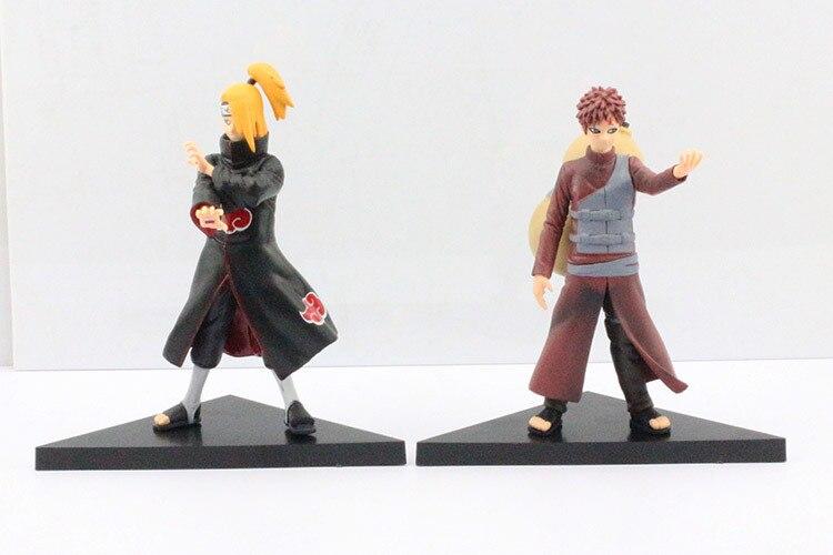 Naruto Deidara VS Gaara Action Figures