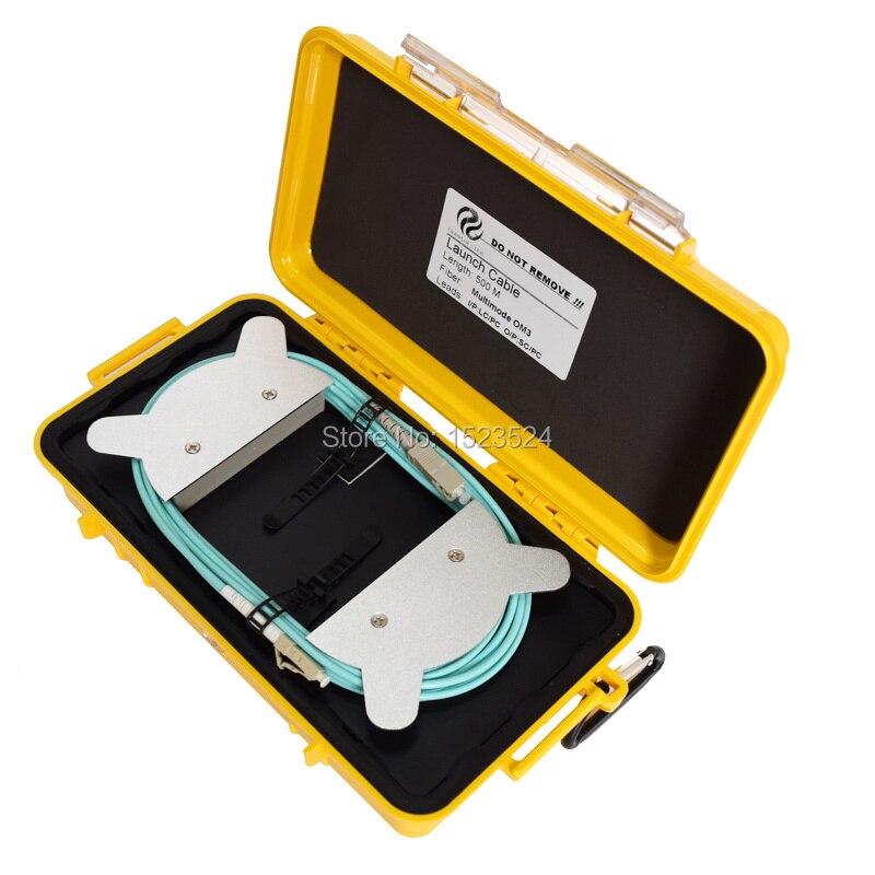 OTDR Dead Zone Eliminator Fiber Rings Fiber Optic OTDR Launch Cable Box MM OM3 LC PC