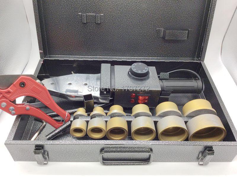 Spedizione gratuita doppia temperatura controllata, saldatrice PPR, - Attrezzatura per saldare - Fotografia 2