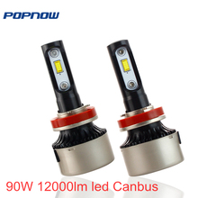 Car LED Headlight Bulbs H1 H3 H4 H7 H11 9005 9006 Auto Canbus Dioes Headlight font
