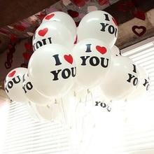 10 шт./лот Романтический в форме сердца Love 2,8g воздушных шаров из латекса, год Гелий воздушные шары для свадьбы вечеринки день Святого Валентина надувные шары