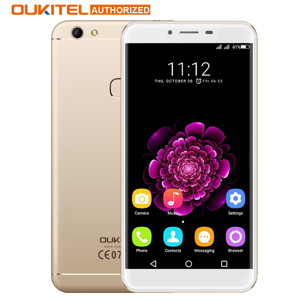 Цена за Oukitel u15s 5.5 ''smartphone android 6.0 mt6750 окта основные 4 ГБ + 32 ГБ 13.0mp 1920x1080 fhd отпечатков пальцев id 4 г fdd мобильного телефона