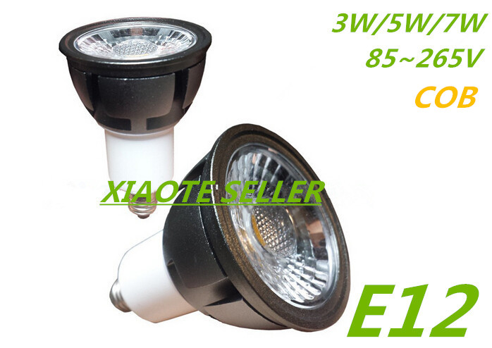 Light Bulbs Straightforward 5/lot Led Spotlight E12 110v Cob Chandelier E12 Led 110v Spotlight E12 Led 110v E12 Cup Led 85v~265v