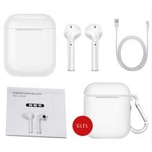 I7 I7s TWS Conjunto Fones de Ouvido Música Fones de Ouvido Sem Fio Bluetooth Estéreo fone de Ouvido para O Iphone X 6 8 7 Samsung Xiaomi caixa de varejo