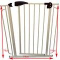74*79 cm valla Puerta de Seguridad para niños Niño Chico Protección Para Escalera Valla Bebé Niño Puerta De Seguridad del bebé puerta de seguridad