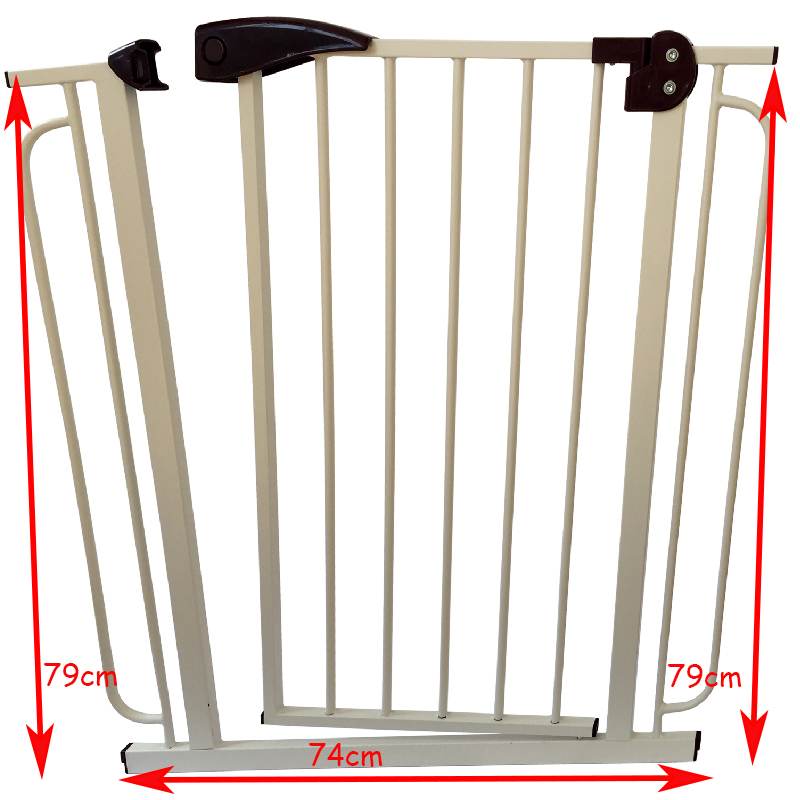 74*79cm fence for children Child Security Doorway Kid Protection For Stair Fence Baby Child  Safety Gate baby security gate