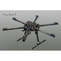 Tarot 3K ALL Carbon metal folding type hexa copter main frame Kit FY680 TL68B01