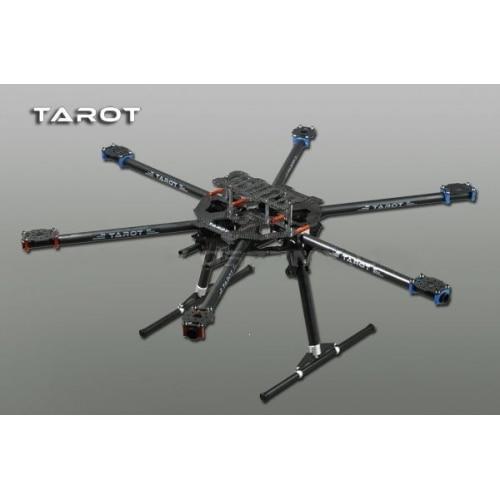 Tarot 3K ALL Carbon metal folding type hexa copter main frame Kit FY680 TL68B01 tarot 3k all carbon metal folding type hexa copter main frame kit fy680 tl68b01