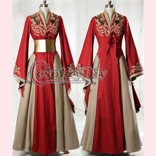 Red Cersei Lannister Costume