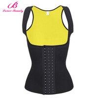Lover Beauty Womens Shapewear Weight Loss Neoprene Sauna Sweat Waist Trainer Corset Tank Top Vest Workout