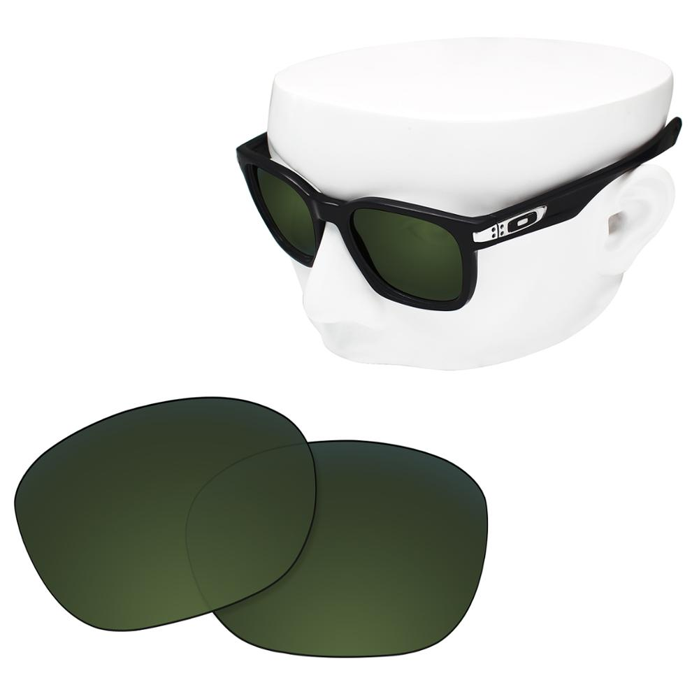 OOWLIT Polarized Replacement Lenses Of Green Tea For-Oakley Garage Rock OO9175 Sunglasses