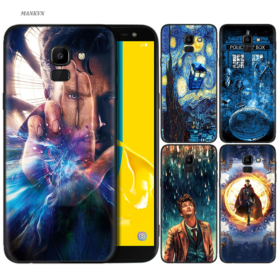 Tardis Box Doctor Who Case Silicone Cover Phone Shell For Samsung Galaxy A6 A8 A9 A7 A5 A3 Plus 2018 2017 2016 2015 A6s Pro Star Phone Bags & Cases