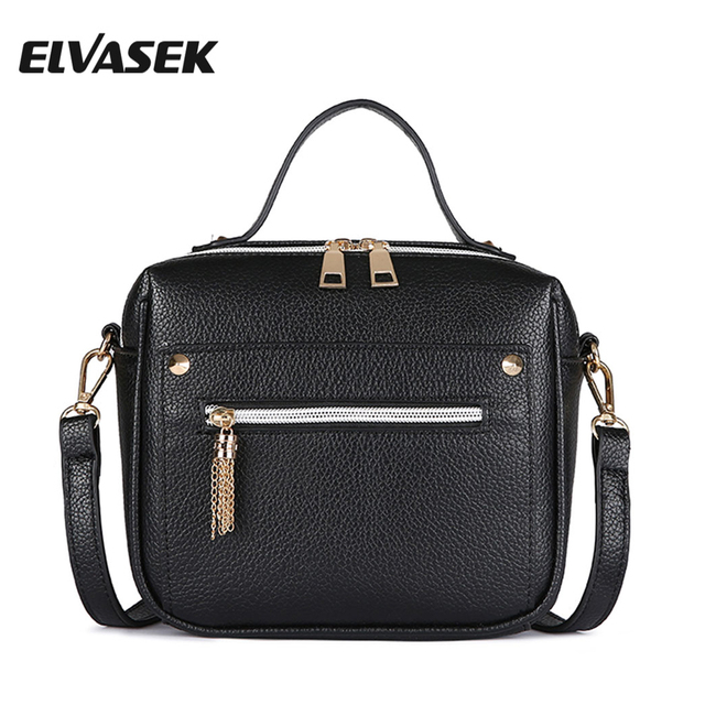 ELVASEK Hot Sale Women Messenger Bags Pu Leather Bags Handbags Women Single Shoulder  Bags Female Clutch Female Bolsas Tote A1200 19e21610efe7a
