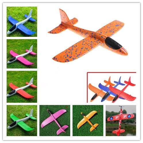 Рука бросить Летающий планер s пена модель аэроплана детские игрушки «сделай сам» вечерние наполнители Летающий планер игрушки для игры детей Лидер продаж